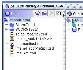 Reload - package w/ 2 sets of files