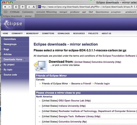 eclipse downloads